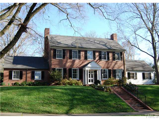 1540 hermitage court open durham for Colonial brick